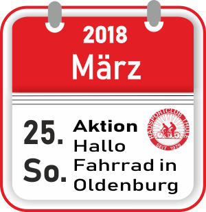 Aktion Hallo Fahrrad Oldenburg