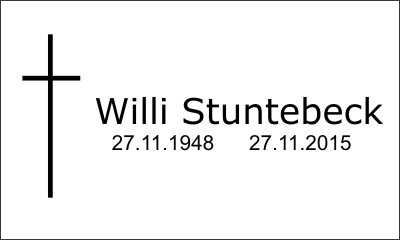 Willi Stuntebeck